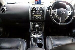 2011 Nissan Dualis J10 Series II MY2010 Ti Hatch Silver 6 Speed Manual Hatchback Minchinbury Blacktown Area Preview