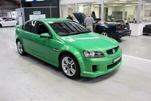 2008 Holden Commodore VE SV6 Green 6 Speed Manual Sedan Maryville Newcastle Area Preview