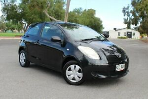 2008 Toyota Yaris NCP90R YR Black 4 Speed Automatic Hatchback Nailsworth Prospect Area Preview