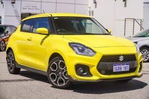 2018 Suzuki Swift AZ Sport Yellow 6 Speed Manual Hatchback Osborne Park Stirling Area Preview