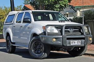 2005 Toyota Hilux KUN26R MY05 SR White 4 Speed Automatic Utility Glenelg Holdfast Bay Preview