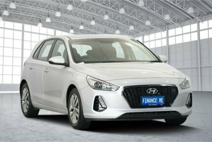 2018 Hyundai i30 PD MY18 Active Platinum Silver Metallic 6 Speed Sports Automatic Hatchback Victoria Park Victoria Park Area Preview
