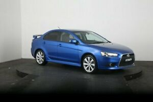 2014 Mitsubishi Lancer CJ MY15 XLS Blue 6 Speed CVT Auto Sequential Sedan