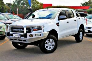 2015 Ford Ranger PX MkII XLS Double Cab White 6 Speed Sports Automatic Utility Midland Swan Area Preview