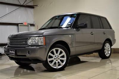2007 Land Rover Range Rover Sc 2007 Land Rover Range Rover Hse Super Charged Rear Tvs Nav Super Clean Must See