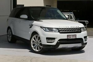 2013 Land Rover Range Rover Sport L494 MY14 SDV6 CommandShift HSE White 8 Speed Sports Automatic