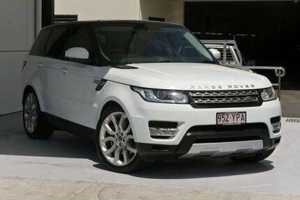 2013 Land Rover Range Rover Sport L494 MY14 SDV6 CommandShift HSE White 8 Speed Sports Automatic Robina Gold Coast South Preview