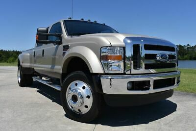 2008 Ford F-450 Lariat 2008 Ford F450SD Lariat 131939 Miles Gold Pickup Truck 8 Automatic