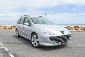 2007 Peugeot 307 T6 XS HDi Touring Silver 5 Speed Manual Wagon Lonsdale Morphett Vale Area Preview