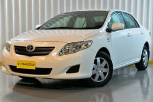 2009 Toyota Corolla ZRE152R Ascent White 4 Speed Automatic Sedan Hendra Brisbane North East Preview
