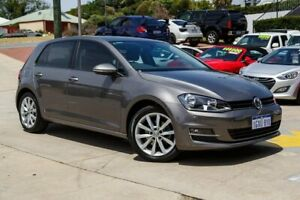2016 Volkswagen Golf VII MY16 110TSI DSG Highline Grey 7 Speed Sports Automatic Dual Clutch Myaree Melville Area Preview