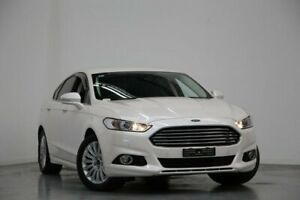 2016 Ford Mondeo MD Trend PwrShift White 6 Speed Sports Automatic Dual Clutch Hatchback Altona North Hobsons Bay Area Preview