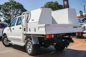 2011 Toyota Hilux KUN26R MY10 SR White 5 Speed Manual Cab Chassis Westminster Stirling Area Preview