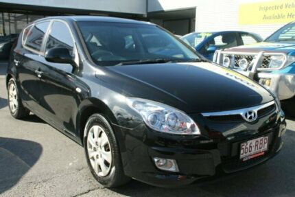 2010 Hyundai i30 FD MY10 SX Black 5 Speed Manual Hatchback