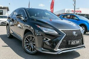 2019 Lexus RX GGL25R RX350 F Sport Black 8 Speed Sports Automatic Wagon Dandenong Greater Dandenong Preview