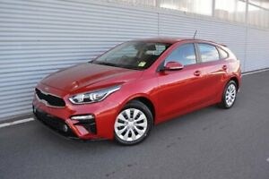 2019 Kia Cerato BD MY19 S Red 6 Speed Sports Automatic Hatchback Launceston Launceston Area Preview