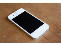 iPhone4S (White, Unlock and good condition)