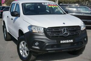 2018 Mercedes-Benz X-Class 470 X220d 2WD Pure White 6 Speed Manual Utility Phillip Woden Valley Preview