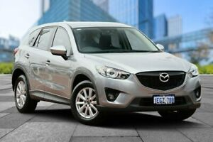 2013 Mazda CX-5 KE1031 MY13 Maxx SKYACTIV-Drive AWD Sport Silver 6 Speed Sports Automatic Wagon Myaree Melville Area Preview
