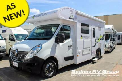 U3618 Jayco Freedom 2017 Model AS NEW Condition - Under 3,000Kms