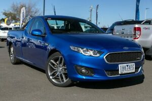2015 Ford Falcon FG X XR6 Ute Super Cab Blue 6 Speed Sports Automatic Utility Hoppers Crossing Wyndham Area Preview