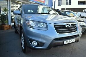 2010 Hyundai Santa Fe CM SLX Wagon 7st 5dr Man 6sp 4x4 2.2DT [MY10] Blue Manual Wagon Liverpool Liverpool Area Preview