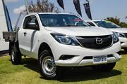 2017 Mazda BT-50 UR0YG1 XT Freestyle White 6 Speed Sports Automatic Cab Chassis Wangara Wanneroo Area Preview