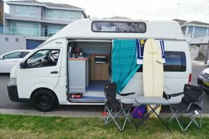 Toyota Hiace Hitop 4-5 Berth Campervan Ex Rental - 2008 Model - Automatic - Family Holiday - 3 Years Welshpool Canning Area Preview