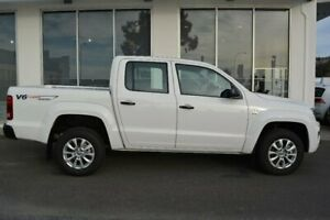 2019 Volkswagen Amarok 2H MY19 TDI550 4MOTION Perm Core White 8 Speed Automatic Utility Launceston Launceston Area Preview