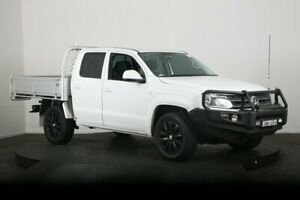 2011 Volkswagen Amarok 2H MY12 TDI400 (4x4) White 6 Speed Manual Dual Cab Chassis McGraths Hill Hawkesbury Area Preview