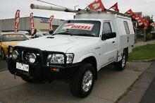 2008 Nissan Patrol GU 6 MY08 DX White 5 Speed Manual Cab Chassis Altona North Hobsons Bay Area Preview