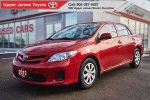 2013 Toyota Corolla CE - One owner, just traded!