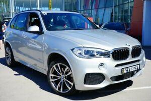 2017 BMW X5 F15 xDrive30d Silver 8 Speed Sports Automatic Wagon