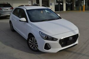 2018 Hyundai i30 PD MY18 Active White 6 Speed Sports Automatic Hatchback Mill Park Whittlesea Area Preview
