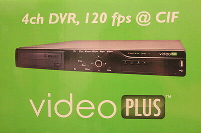 GVI Security AR-6040 DVR H.264 4 channel DVD-RW D1 HDMI 4ch Surveillance CCTV NR