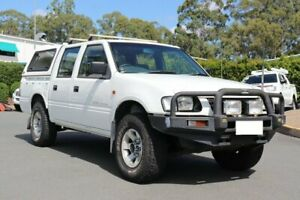 2001 Holden Rodeo TF R9 LX Crew Cab White 5 Speed Manual Utility