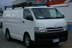 2007 Toyota HiAce TRH201R MY07 Upgrade LWB White 4 Speed Automatic Van Fyshwick South Canberra Preview