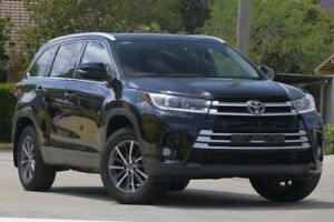 2017 Toyota Kluger GSU50R GXL 2WD Black 8 Speed Sports Automatic Wagon Caloundra West Caloundra Area Preview