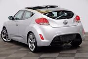 2014 Hyundai Veloster FS2 Coupe D-CT Silver 6 Speed Sports Automatic Dual Clutch Hatchback Seven Hills Blacktown Area Preview