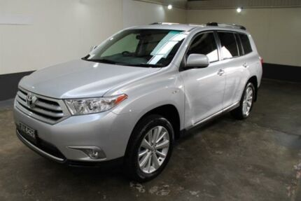 2011 Toyota Kluger GSU45R MY11 Upgrade KX-S (4x4) Silver 5 Speed Automatic Wagon Pennington Charles Sturt Area Preview