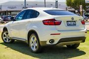 2013 BMW X6 E71 LCI MY1112 xDrive40d Coupe Steptronic White 8 Speed Sports Automatic Wagon Victoria Park Victoria Park Area Preview