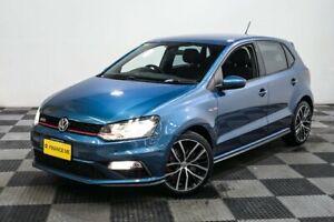 2015 Volkswagen Polo 6R MY15 GTI DSG Blue 7 Speed Sports Automatic Dual Clutch Hatchback
