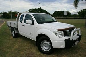 2012 Nissan Navara D40 S6 MY12 RX King Cab White 5 Speed Automatic Cab Chassis Townsville Townsville City Preview