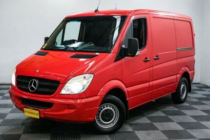 2009 Mercedes-Benz Sprinter NCV3 MY09 311CDI Low Roof SWB Red/Black 5 Speed Automatic Van Edgewater Joondalup Area Preview