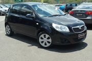 2009 Holden Barina TK MY09 Black 4 Speed Automatic Hatchback Wacol Brisbane South West Preview