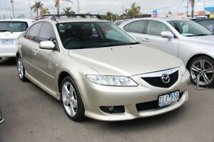 2003 Mazda 6 GG1031 Luxury Sports Gold 4 Speed Sports Automatic Hatchback Cheltenham Kingston Area Preview