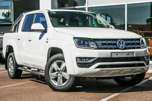 2019 Volkswagen Amarok 2H MY19 TDI550 4MOTION Perm Highline White 8 Speed Automatic Utility Belconnen Belconnen Area Preview