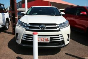 2017 Toyota Kluger GSU55R GXL AWD Crystal Pearl 8 Speed Sports Automatic Wagon The Gardens Darwin City Preview