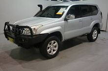 2005 Toyota Landcruiser Prado KZJ120R GXL Silver 5 Speed Manual Wagon Old Guildford Fairfield Area Preview