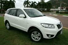 2010 Hyundai Santa Fe CM MY10 SLX White 6 Speed Sports Automatic Wagon Townsville Townsville City Preview